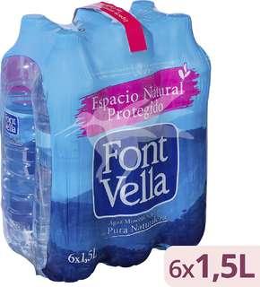 Font Vella Agua mineral natural 6 x 1,5 L