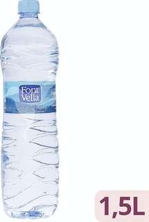 Agua mineral natural Botella 1,5L