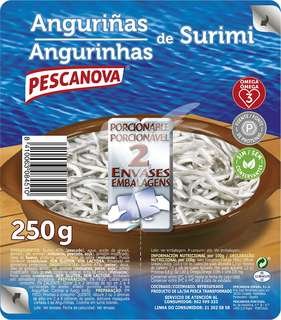 Pescanova Anguriñas de surimi 250 gr