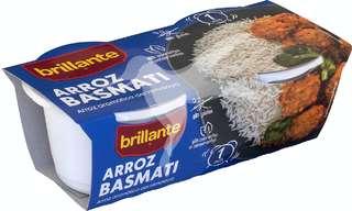 Brillantes Arroz cocido basmati 2 x 125 gr