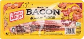 Bacon ahumado con humo de madera de haya, sin gluten y cortado en lonchas