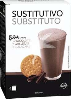 Batido sabor chocolate (sustituye una comida)