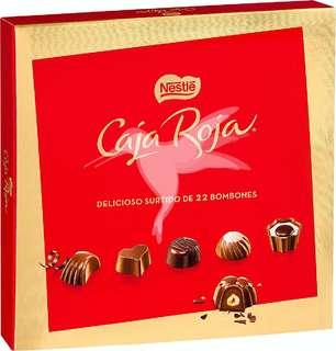 Bombones Nestlé caja Roja (22 bombones)