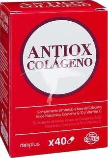 Cápsulas antioxidantes colágeno (contienen ácido hialurónico)