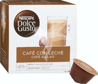 Nescafé Dolce Gusto Café en capsulas con leche (16 cápsulas )