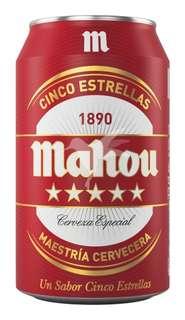 Cerveza rubia 5 Estrellas Mahou - Carrefour Market