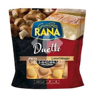 Duetto pasta rellena de setas y queso Taleggio Rana - Carrefour Market