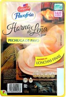 Campofrio Pechuga de pavo al horno de leña 125 gr