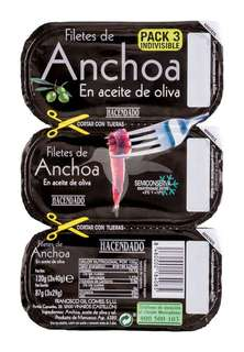 Filete de anchoa en aceite de oliva 3 x 29 gr