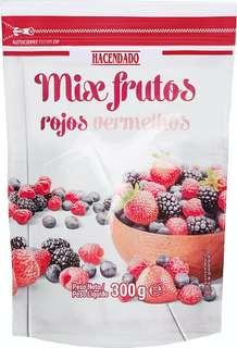 Mezcla de frutas rojas congeladas 300 gr