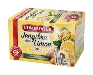 Infusión de Jengibre con limón en bolsitas - Carrefour Market