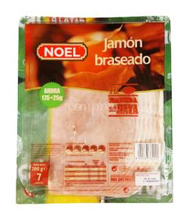 Noel Jamón cocido braseado en lochas 200 gr