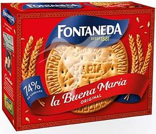 Fontaneda Galletas Maria (4 paquetes)