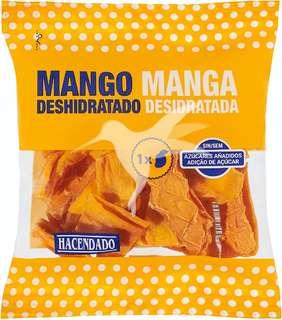 Mango deshidratado sin azúcar añadido
