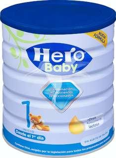 Hero Baby Nutrasense Premium 1 Leche en Polvo de Inicio para Lactantes + 1 día 800 gr