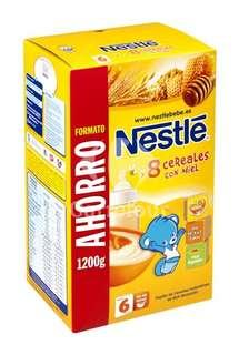 Papilla en polvo de 8 cereales con miel Nestlé - Carrefour Market