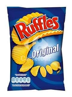 Patatas fritas onduladas Ruffles - Carrefour Market