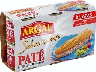 Paté de hígado de cerdo (textura fina)