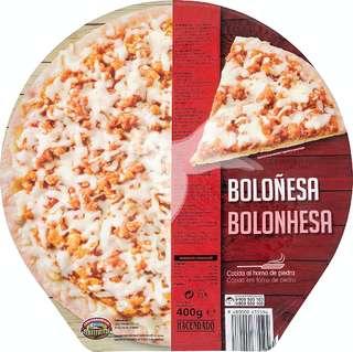 Pizza congelada Boloñesa