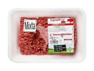 Carne picada mixta (bandeja 750kg) - Carrefour Market