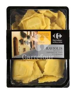 Raviolis de ternera al vino Carrefour - Carrefour Market