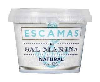 Sal marina en escamas 125 gr