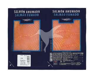 Salmón ahumado en lonchas 2 X 190 gr