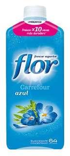 Suavizante concentrado Azul Flor - Carrefour Market