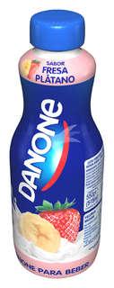 Yogur para beber sabor fresa y plátano Danone - Carrefour Market