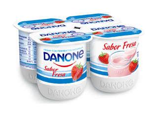 Yogur sabor fresa Danone - Carrefour Market