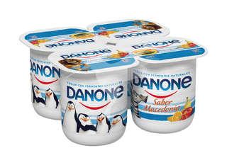 Yogur sabor macedonia Danone - Carrefour Market