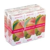 Comprar Zumo de melocotón y uva 6 x 200 ml en Mercadona online con Lola Market